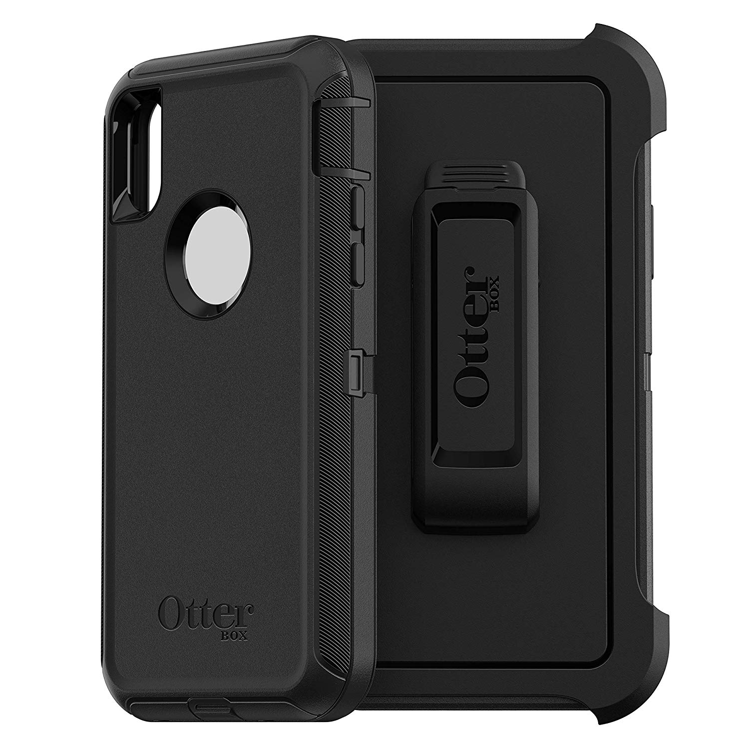 black otterbox defender phone case