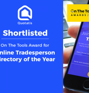 shortlisted: on the tools award for online tradesperson directory of the year